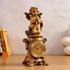 """Часы настольные """"Молитва"""", 1 АА, дискретный ход,  12х13х32.5 см"""