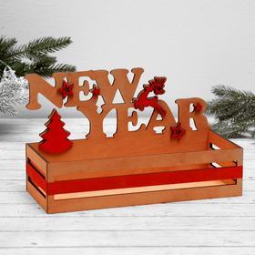 "Shelf ""New year"", 19.5 x 32.5 cm"