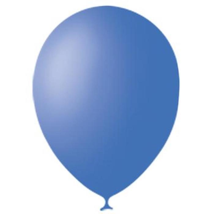 """Шар латексный 12"""", пастель, набор 25 шт., цвет тёмно-голубой - фото 462300"""