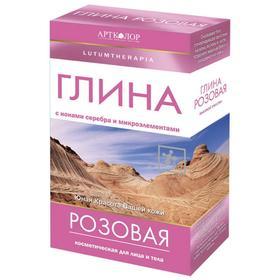 Глина косметическая Lutumtherapia розовая, 100 г Ош
