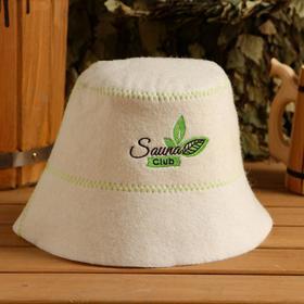 "Hat bath ""Panama"", white felt"