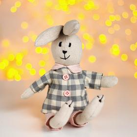"""Soft toy """"Bunny"""" shirt in a cage"""