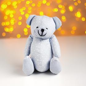 Мягкая игрушка «Мишка», в горох, цвета МИКС