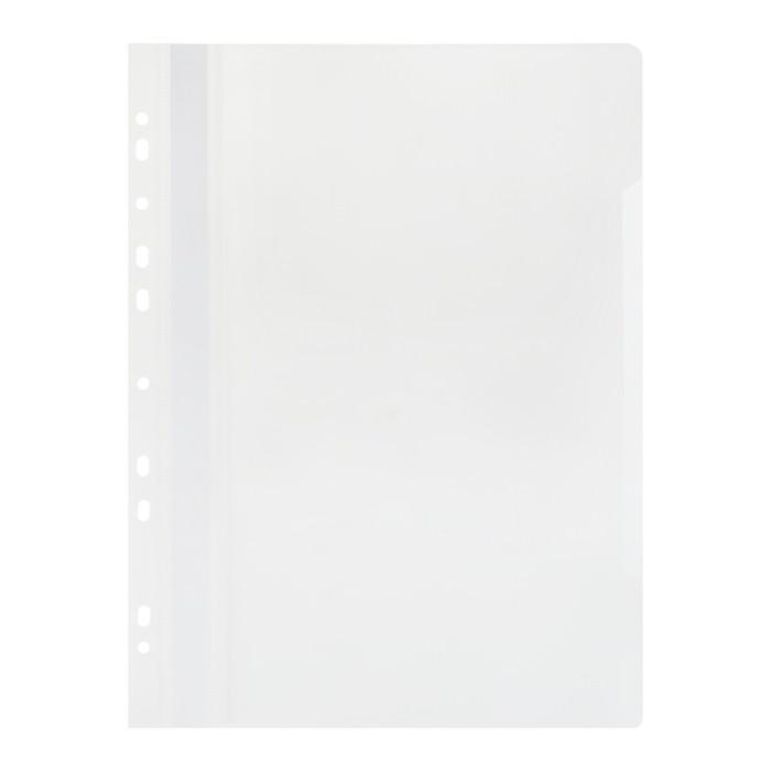 Папка скоросшиватель с перфорацией А4, белая