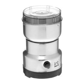 Кофемолка электрическая Irit IR-5017, 120 Вт, 85 г, серебристая Ош