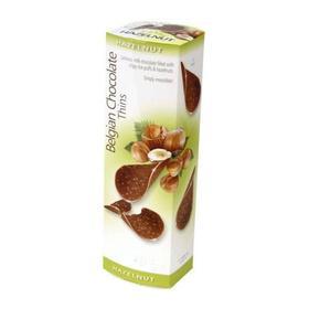 Шоколадные чипсы Belgian Chocolate Thins Hazelnut, 80 г