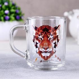 Кружка Animals «Тигр», 200 мл, в подарочной упаковке в Донецке