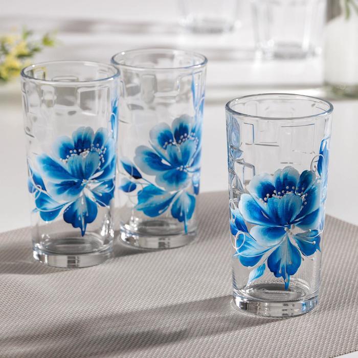 Набор стаканов «Исида», 230 мл, 3 шт, в подарочной упаковке - фото 893820