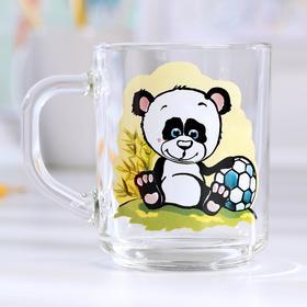 Кружка «Весёлые зверюшки. Панда», 200 мл