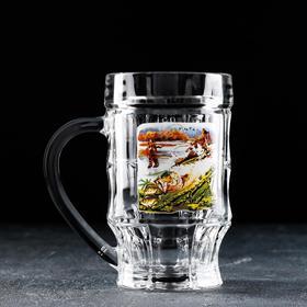 {{photo.Alt    photo.Description    'Кружка для пива «Охота-рыбалка», 500 мл, в подарочной упаковке'}}