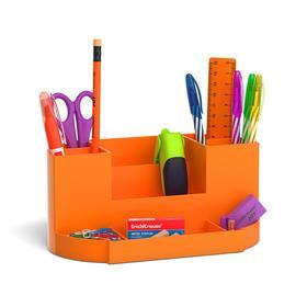 Набор настольный канцелярский 13 предметов ErichKrause Victoria, Neon Solid, оранжевый