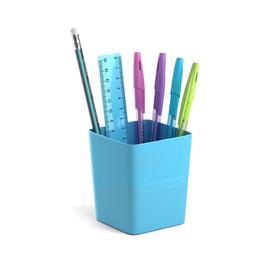 Набор настольный канцелярский 6 предметов ErichKrause Base, Pastel, голубой