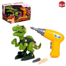 Конструктор винтовой «Тиранозавр», с электрическим шуруповёртом