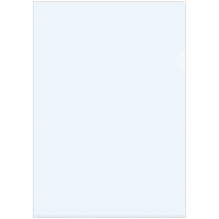 Папка-уголок A4, 150мкм прозрачная, бесцветная