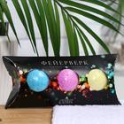 Набор шипучей соли для ванн «Фейерверк», 3 штуки по 40 г - фото 497773