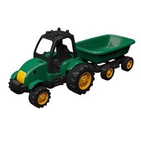 Трактор с прицепом, 50 см
