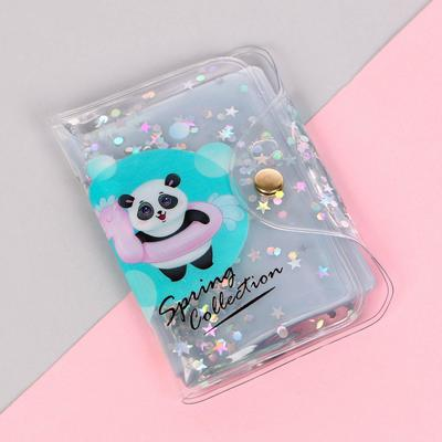 "Business card holder-shaker for 20 holders ""Panda"""