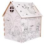 Дом-раскраска из картона «Милые принцессы» - фото 106074654