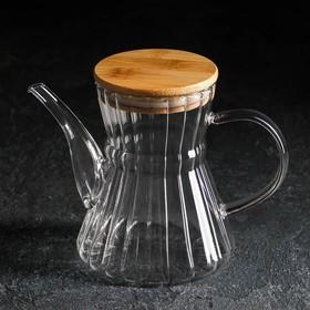 Чайник заварочный «Эко. Восток», 600 мл, 18×11,5×14 см