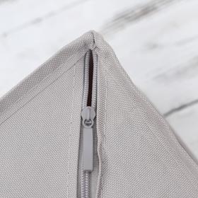 Органайзер для белья с крышкой «Тея», 13 ячеек , 32,5×24×12 см, цвет серый - фото 4640852