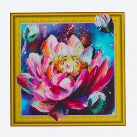 Алмазная картина «Волшебный лотос»