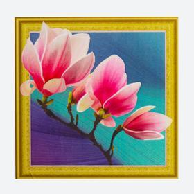 Алмазная картина «Цветущая магнолия»