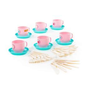 Набор детской посуды «Минутка», на 6 персон, 30 элементов