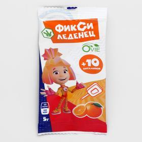 БАД к пище Фикси леденец со вкусом апельсина
