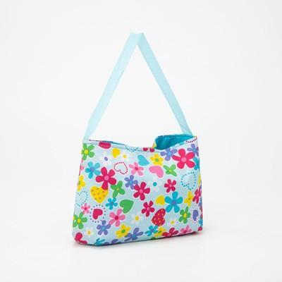 Cosmetic bag 15095, 24*5*13,5, zippered otd, blue