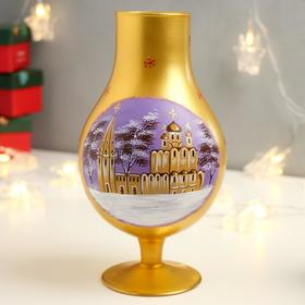 "Candle holder ""Holy Russia"" Aladdin lamp with painting"