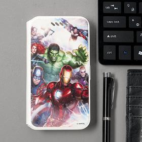 "Чехол Red Line iBox Art Универсальный размер M (4,2""-5""), Marvel №23, белый"