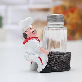 {{photo.Alt || photo.Description || 'Ёмкость для специй «Шеф повар», солонка, фигурки МИКС'}}