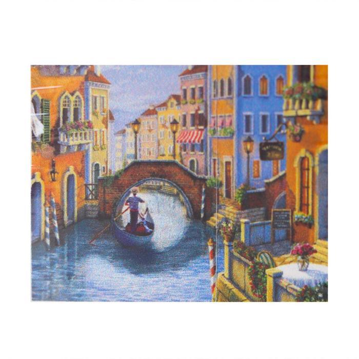 Алмазная мозаика с полным заполнением «Романтика в Венеции» 48 x 38 см - фото 756272