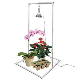 Подставка для фитолампы, 55 × 58 × 113 см, напольная, пластик