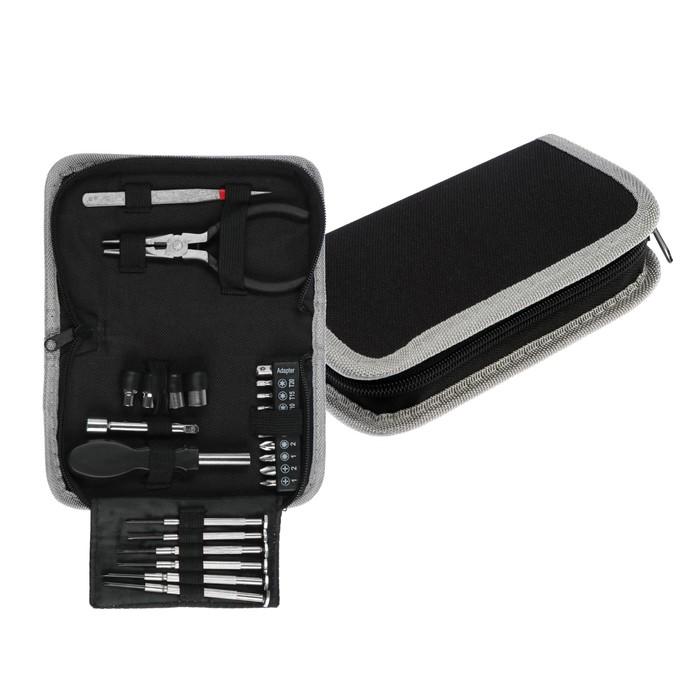 Набор инструментов TUNDRA, подарочная кейс-папка, 24 предмета