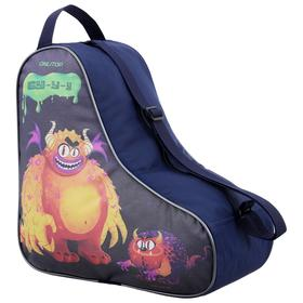 Bag for skates and rollers Monster 36,5x35,2 cm