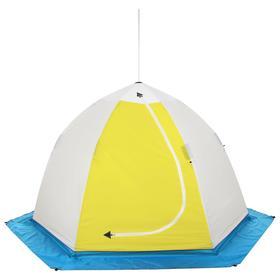 Палатка зимняя с дышащим верхом «СТЭК» Elite 3-местная