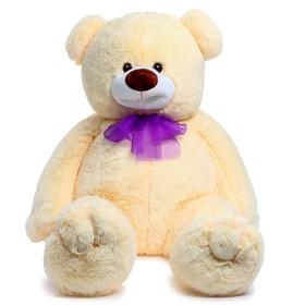 Мягкая игрушка «Медведь Илюша», цвет персиковый, 120 см
