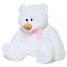Мягкая игрушка «Медведь Тимур», 120 см, цвет белый