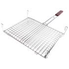 Решетка-гриль для мяса длина 24 см, ширина 36 см, толщина 2 см