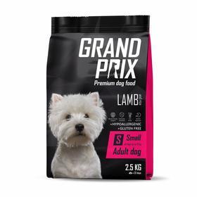Сухой корм GRAND PRIX для собак мелких и миниатюрных пород, ягненок, 2,5 кг