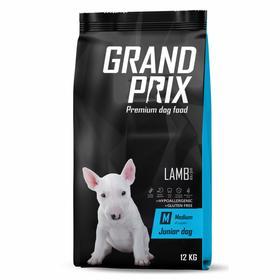 Сухой корм GRAND PRIX для щенков средних пород, ягненок, 12 кг