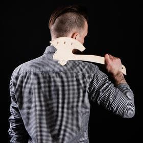 """Сувенирное деревянное оружие """"Топорик"""", 46 см, массив бука"""