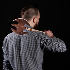 """Сувенирное деревянное оружие """"Топор"""", 54 см, массив бука"""