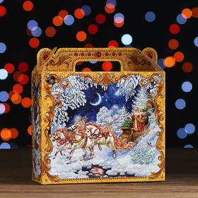 "Новогодний подарок ""Зимняя Тройка"" картонная упаковка, 700 г"