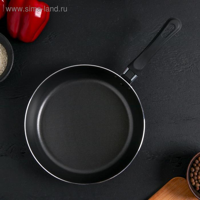 """Сковорода с антипригарным покрытием 22 см """"Эксперт"""""""