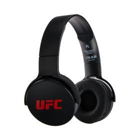 Наушники Red Line UFC BHS - 18, накладные, беспроводные, Bluetooth 5.0, черные