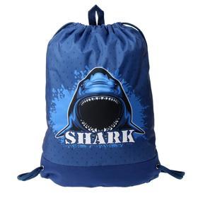 Мешок для обуви с карманом, 470 х 330 мм, Оникс МО-33-20, Shark