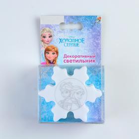 """Декоративный светильник """"ФОТОН"""", Disney """"Холодное сердце"""", DLD-67, """"Снежинка"""""""