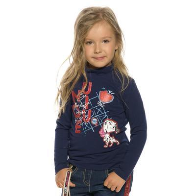 Джемпер для девочек, рост 98 см, цвет синий